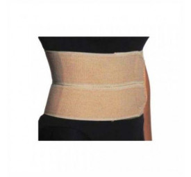 Faixa elástica abdominal Pós-cirúrgica 2 painéis P/M - Salvapé