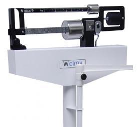 Balança mecânica com régua antropométrica W 110 H Welmy