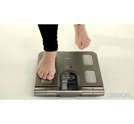 Balança Digital com controle corporal Bioimpedância HBF514C Omron
