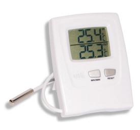 Termômetro Digital S/ Higrômetro C/ Cabo Máx/ Mín - Incoterm