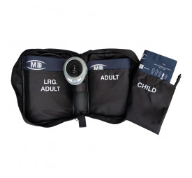 Aparelho para Medir Pressão Adulto Palm HT-1500 com 3 braçadeiras Nissei