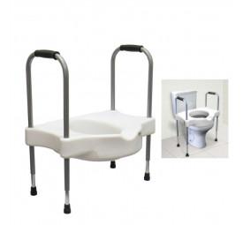 Assento elevado para sanitário com alças reguláveis Sit V Carci