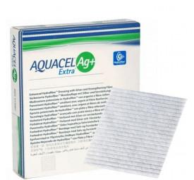 Curativo hidrofibra Aquacel Ag+ Extra - Convatec 10x10cm