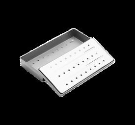 Estojo de Inox Perfurado 18x08x03 - Fava
