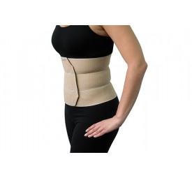 Faixa elástica abdominal Pós-cirúrgica 3 painéis P/M - Salvapé