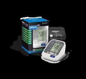 Aparelho de pressão arterial automático de braço Elite Omron HEM-7130