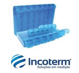 Porta Comprimidos de 28 Divisões- Incoterm