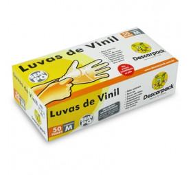 Luva de procedimento Vinil Sem Pó- Descarpack