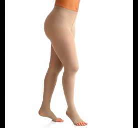Meia calça elástica compressão 20-30mmHg Media Curta Sigvaris