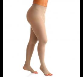 Meia calça elástica compressão 20-30mmHg Grande Longa Sigvaris
