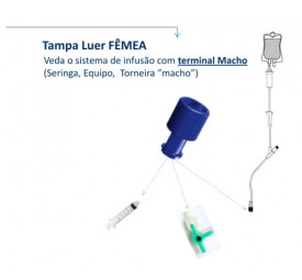 Tampa para Cateter- Embramed