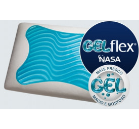 Travesseiro GelFlex Nasa- DuoFlex